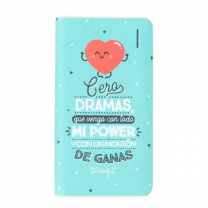 mr-wonderful Mr Wonderful Cero Dramas Powerbank 6000mAh Azul