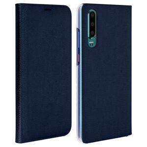 Avizar Flip Book Capa Azul Escura para Huawei P30