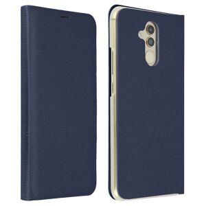 Avizar Flip Book Cover Capa Azul Escura para Huawei Mate 20 Lite