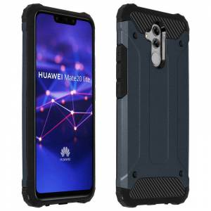 Avizar Capa Anti-Choque Defender II Azul Escura para Huawei Mate 20 Lite
