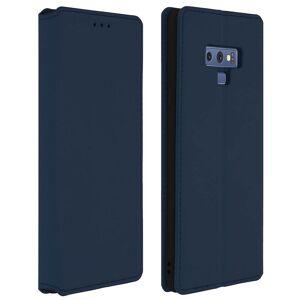 Avizar Capa Livro Azul Trançada para Samsung Galaxy Note 9