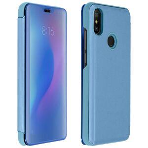 Avizar Funda Tapa Translúcida Efecto Espejo Azul para Xiaomi Mi A2