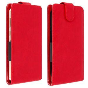 "Avizar Funda Vertical Roja para Smartphones 5.3"" a 5.5"""