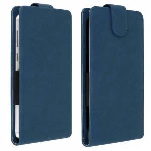 """Avizar Funda Vertical Azul Oscuro para Smartphones 5.5"""" a 6"""""""