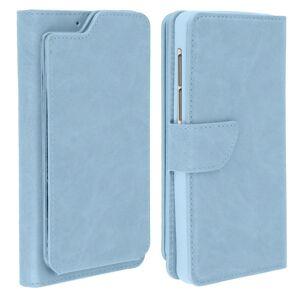 "Avizar Funda Cartera Azul para Smartphones de 5.5"" a 6"""
