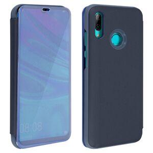 Avizar Funda Tapa Translúcida Efecto Espejo Azul para Huawei P Smart 2019/Honor 10 Lite