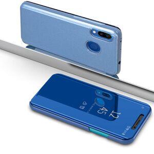 Cool Funda Flip Cover Clear View Azul para Samsung Galaxy M20