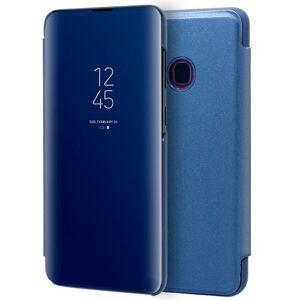 Cool Funda Flip Cover Clear View Azul para Samsung Galaxy A40