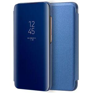Cool Funda Flip Cover Clear View Azul para Samsung Galaxy A70