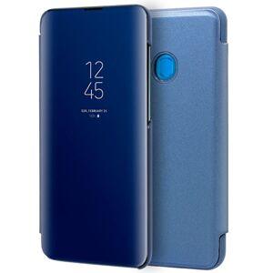 Cool Funda Flip Cover Clear View Azul para Samsung Galaxy A20/A30/A50