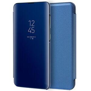 Cool Funda Flip Cover Clear View Azul para Samsung A105 Galaxy A10