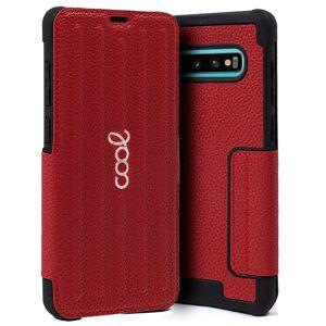 Cool Funda Flip Cover Texas Roja para Samsung Galaxy S10 Plus