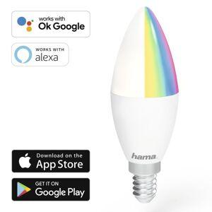 Hama lâmpada led wi-fi e14 5.5w rgb