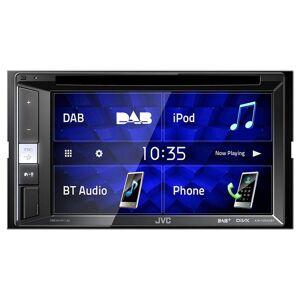 "JVC KW-V255DBT Recetor Multimédia 6.2"" Táctil DVD/CD/USB/Bluetooth/DAB+/Spotify/Android/iOS"
