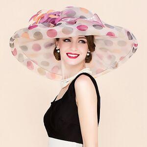 lightinthebox Organza Chapéu de Kentucky Derby / Fascinadores / Chapéus com Flor 1pç Casamento / Ocasião Especial / Casual Capacete