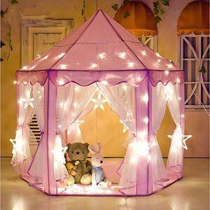 lightinthebox Cabanas & Túneis para Crianças Barraca de Brinquedo Castelo Princesa Brilha no Escuro Estrela Princesa Tecidos Crianças Para Meninos Para Meninas Brinquedos Dom 1 pcs