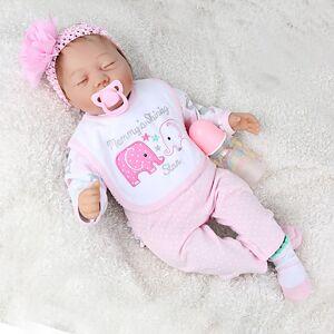 lightinthebox NPK DOLL Bonecas Reborn Boneca Reborn Toddler Bebês Meninos Bebês Meninas 22 polegada Presente Fofo de Criança Unisexo Brinquedos Dom