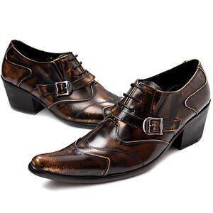 lightinthebox Homens Sapatos formais Pele Napa Primavera / Outono & inverno Casual / Formais Oxfords Não escorregar Marron / Festas & Noite