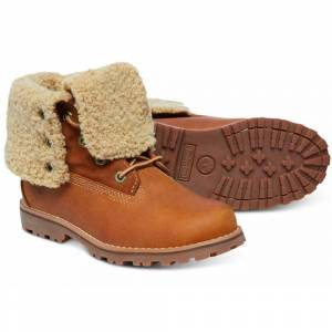 Timberland Authentics 6 In Waterproof Faux Shearling Boot Youth