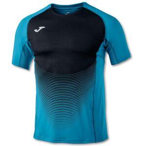 joma T-shirts Joma Elite Vi S Turquoise / Black