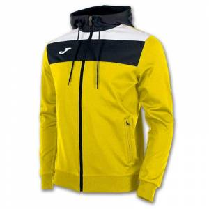 Joma Crew Hooded 5XS Yellow