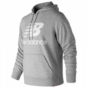 New Balance Essentials Stacked Logo Po Hoodie XL Agave