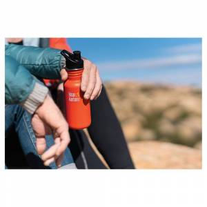 Klean Kanteen Classic 530ml One Size Brushed Stainless
