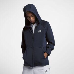 Nike Hoodie com fecho completo Nike Sportswear Tech Fleece para homem - Azul