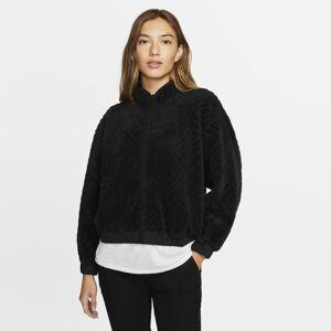 Nike Casaco Hurley Sherpa para mulher - Preto