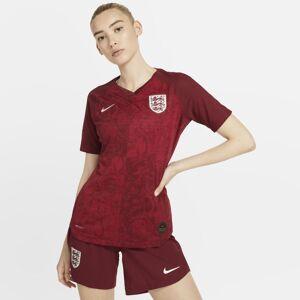 Nike Camisola de futebol England 2019 Vapor Match Away para mulher - Vermelho