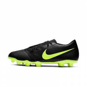 Nike Chuteiras de futebol para terreno firme Nike PhantomVNM Club FG - Preto