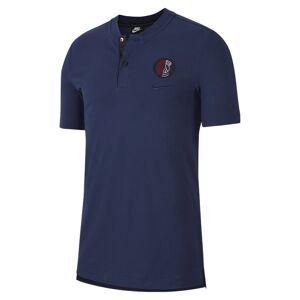 Nike Polo de futebol Paris Saint-Germain para homem - Azul