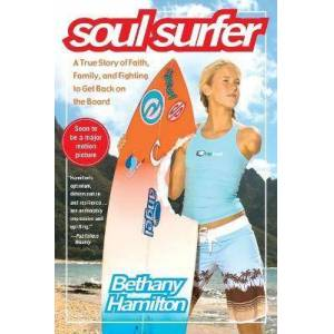 """Soul Surfer: A True Story of Faith, Family, and Fighting by Hamilton Soul Surfer: A True Story of Faith, Family, and Fighting to Get Back on the Board """" : Paperback : SIMON & SCHUSTER : 9781416503460 : 1416503463 : 22 Jan 2007 : Hamilton, the teenage surfer who lost her arm in a shark attack in the fall of 2003, shares her amazing story, detailing her return to surfing after this life-changing event. She also reveals how she has dealt with the maelstrom of attention from the press and media and how her faith keeps her going and feeling positive."""