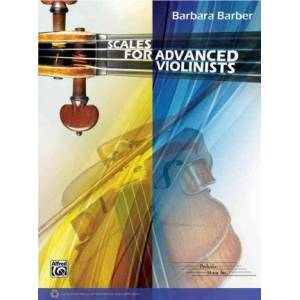 Scales for Advanced Violinists by Barbara Barber