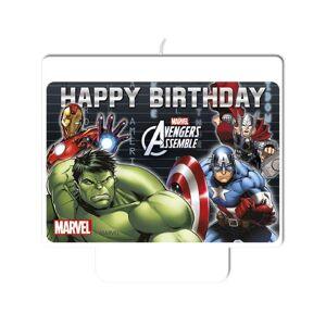 Liragram Os VingadoresVela de Aniversário