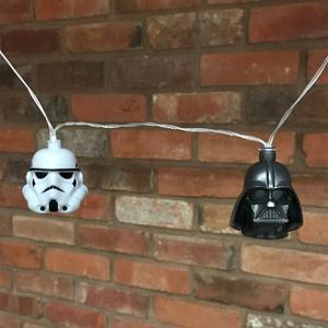 Star Wars - Pack 2 Luzes Stormtrooper e Darth Vader