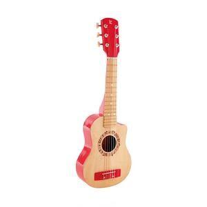 DAMERIK, S.L. Hape - Guitarra Clássica Vermelha