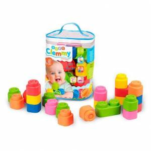 Clementoni Clemmy Baby Saco de 48 Blocos
