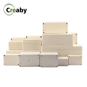 1PC Electrical Transparent Cover Enclosure Waterproof Junction Box DIY Electronic Box ABS Plastic Waterproof Junction Case