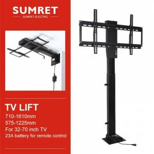 TV LIFT Electric lifting support for Applicable to Motorized Vertical Stand Lift Height Adjustable Mount With Phone Control
