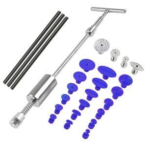 Paintless Dent Repair Dent Puller Kit Dent Removal Slide Hammer Glue Sticks Reverse Hammer Glue Tabs For Hail Damage