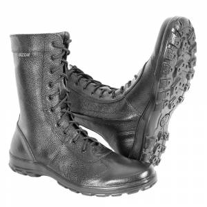 demi-season ankle boots genuine leather shoes for men military army high boots
