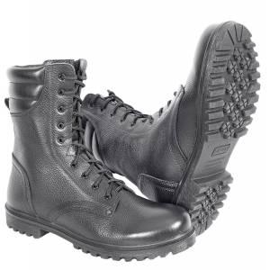 winter ankle boots genuine leather shoes for men military army high boots