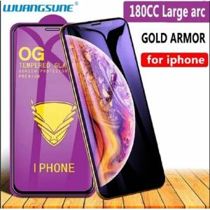 Protective tempered glass Golden Armor for iPhone