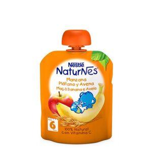 Nestlé Naturnes Pacotinho Fruta Maçã-Banana-Aveia 6m+ 90g