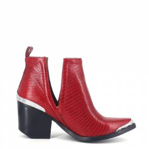 'JEFFREY CAMPBELL // JCROMWELL / RED - ::'