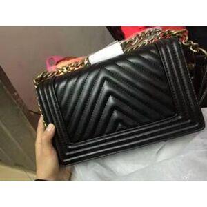 Couro clássico preto corrente de prata de ouro Frete grátis venda quente de varejo novos sacos bolsas sacos de ombro sacolas sacola mensageiro.