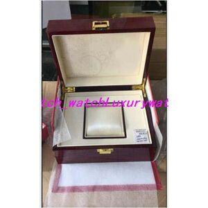 2019 topselling vermelho nautilus caixa de relógio papéis de madeira caixas de cartão bolsa para aquanaut 5711 5712 5990 5980 relógio
