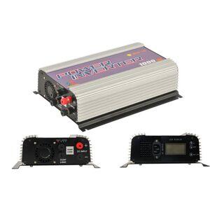 Freeshipping 1000 W MPPT onda senoidal pura no inversor da grade para DC 22-60 V / 45-90 V turbina eólica, LCD vento grid tie inversor com carga de