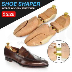 Ajustável sapatos Homens Mulheres Cedar Wood Árvore Shaper Madeira Tubo Maca gêmeo